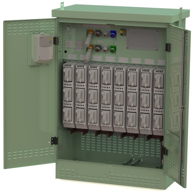 8 Way 1600A GEN Panel